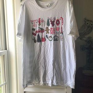 Christmas tee shirt